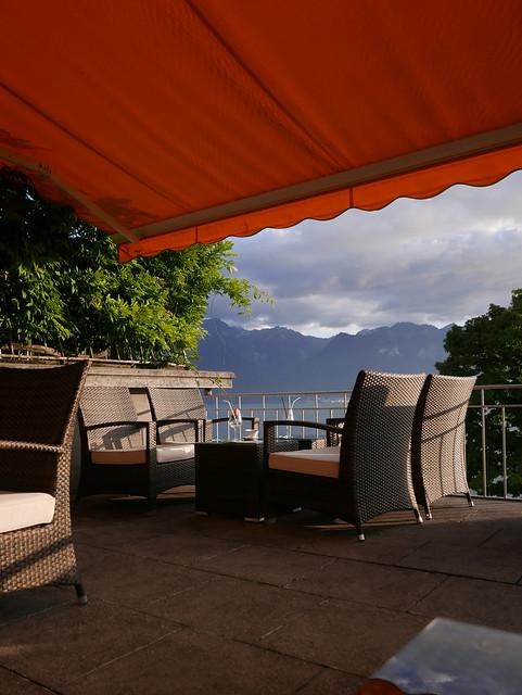 Suisse Vevey La Tour de Peilz terrasse - atana studio