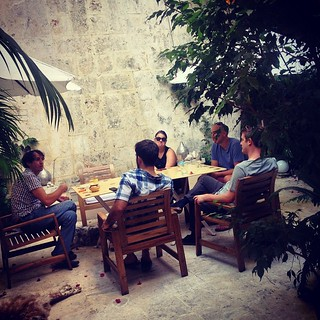 Conspiring with friends in Santo Domingo. #misfitgram #weekendatmisfit
