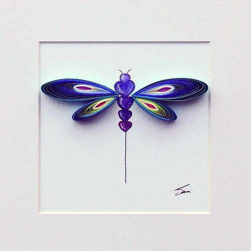 Quilled Dragonfly | by all things paper