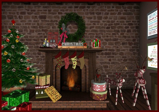 Xmas 2014 | Christmas Fireplace FR