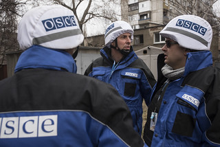OSCE SMM monitoring the movement of heavy weaponry in eastern Ukraine | by OSCE_SMM