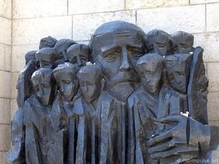 """""""Korczak und die Kinder des Ghettos"""" in Yad Vashem Jersualem Israel"""