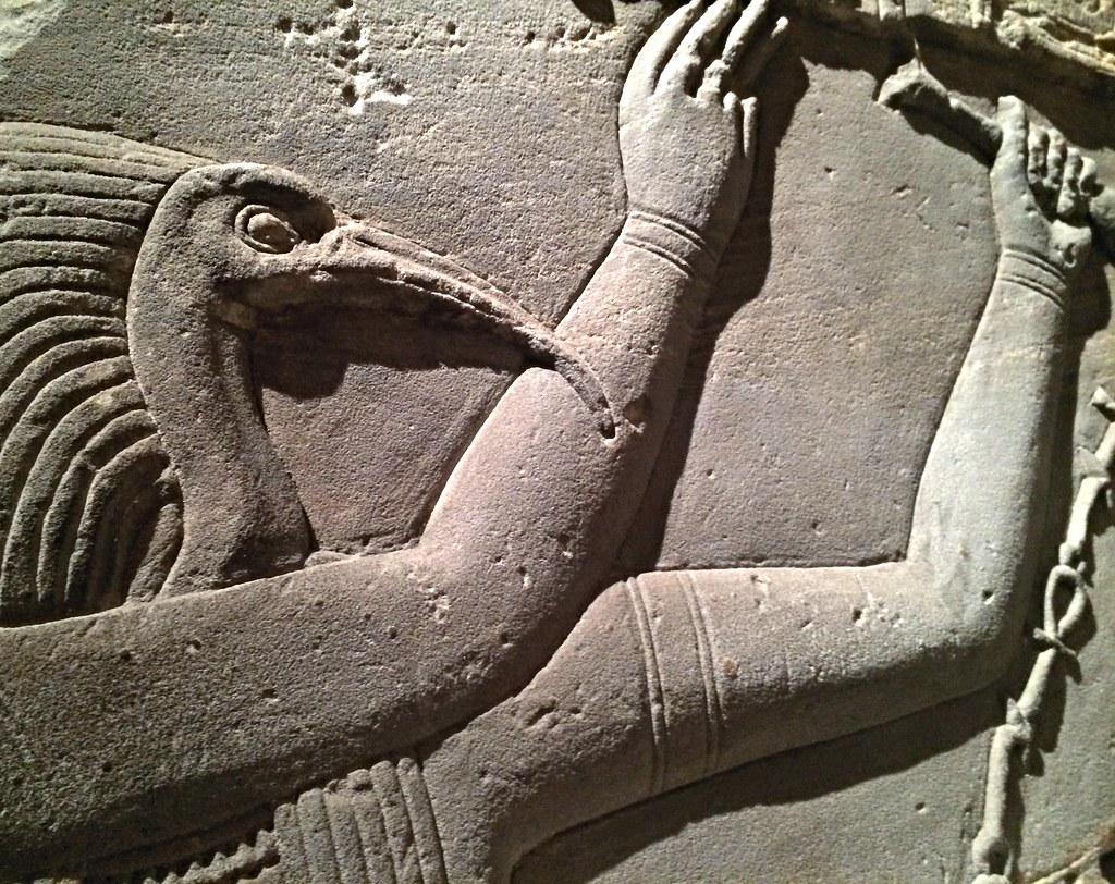 Ibis A New York carved ibis god thoth, metropolitan museum of art, new yor