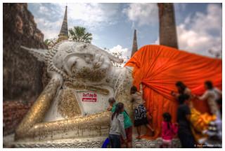 Thailand: Covering Buddha | by Karl von Moller