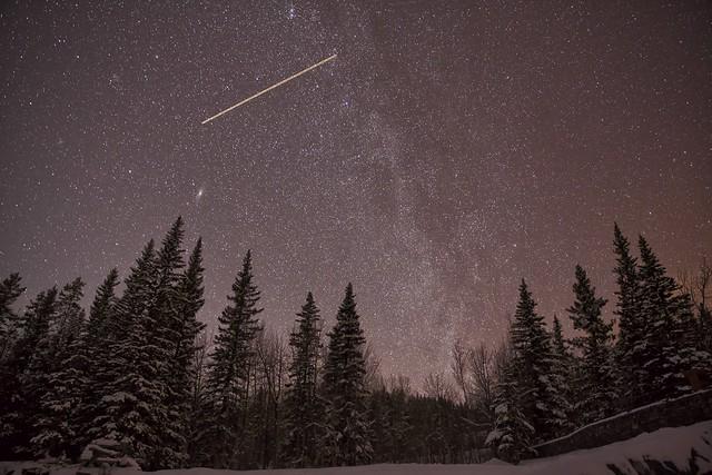 February Night sky