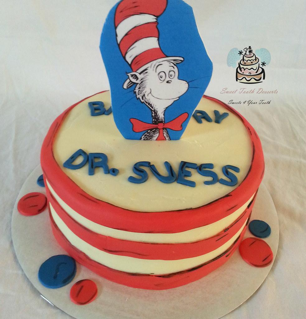 Astounding Dr Seuss Birthday Cake 9In Dr Seuss Birthday Cake Vanil Flickr Funny Birthday Cards Online Aboleapandamsfinfo