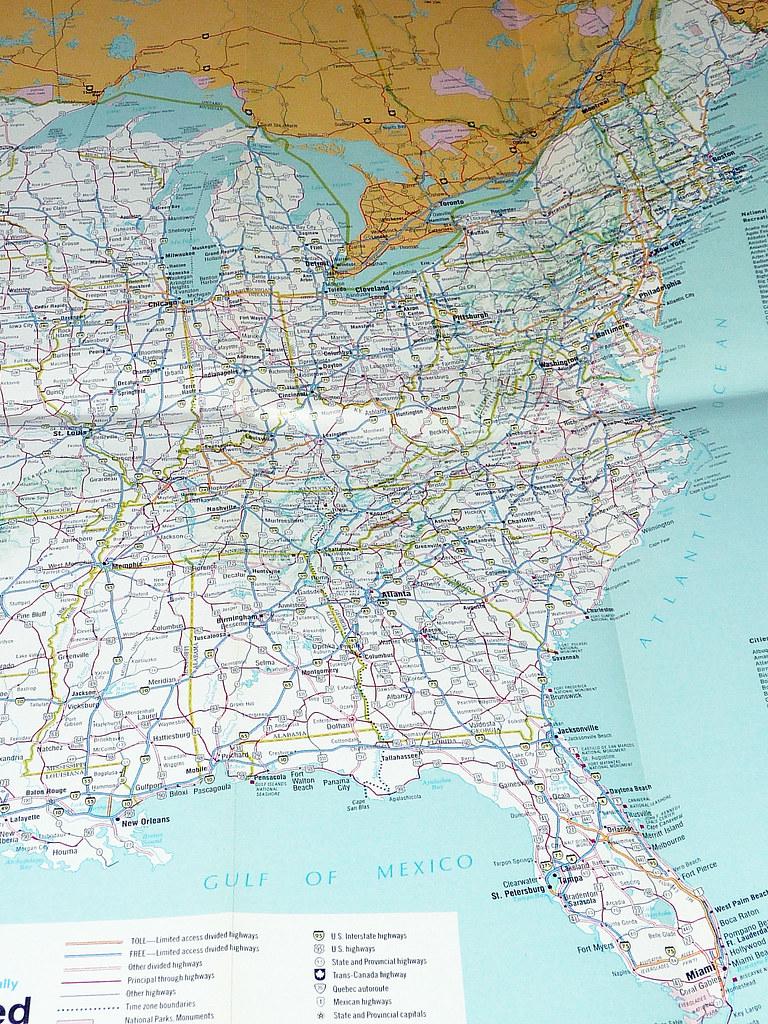 1986 Rand McNally Map (6)   David Valenzuela   Flickr