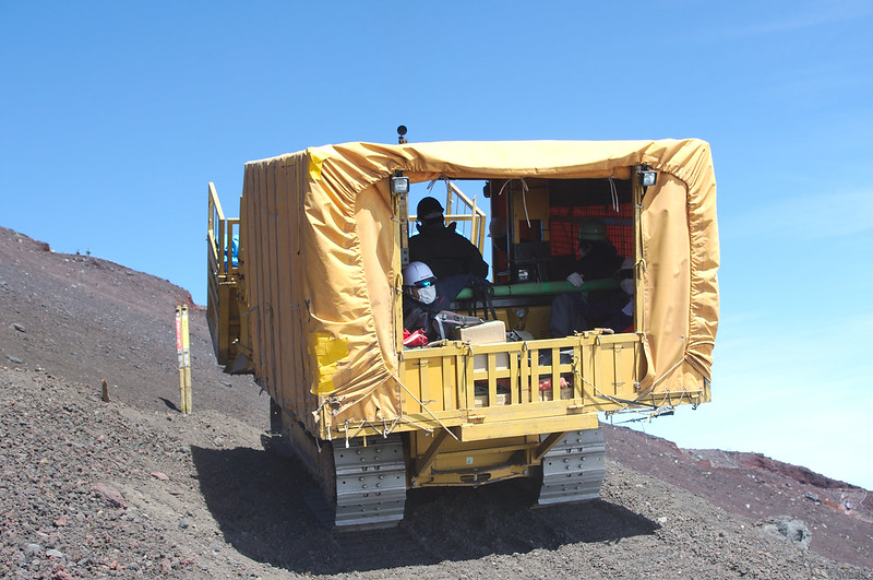 Bulldozer de ravitaillement