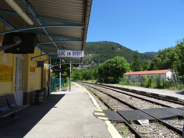 small train station