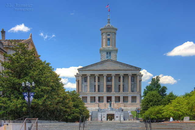 Tennessee State Capitol building - Nashville, Tennessee
