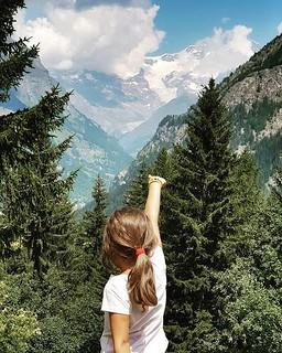 Monte Rosa #mylittlebabygirl #Margherita #monterosa #gressoney #cialvrina #mountain #valdaosta #igers #igersitalia #photooftheday #picoftheday #fun #family #walk #pointing #landscape #italy #kid | by Mario De Carli
