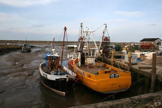 Brancaster Staithe harbour