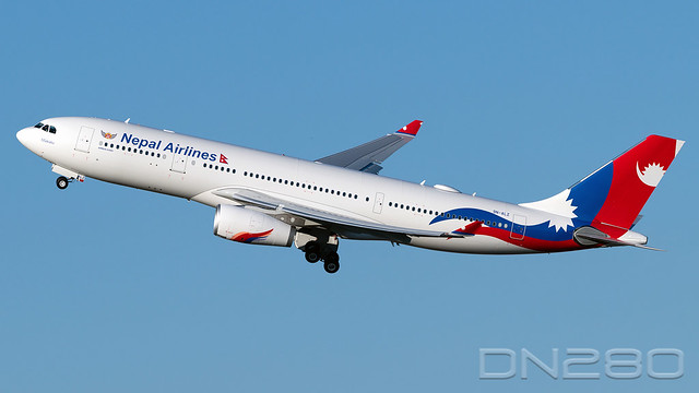 Nepal Airlines A330-243 msn 1878