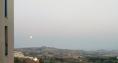 luna eclipse pibepa móvilbq móvil ocaso ocasodeluna amanecer lunallena 28072018 moon eclisse cielo moonset texto