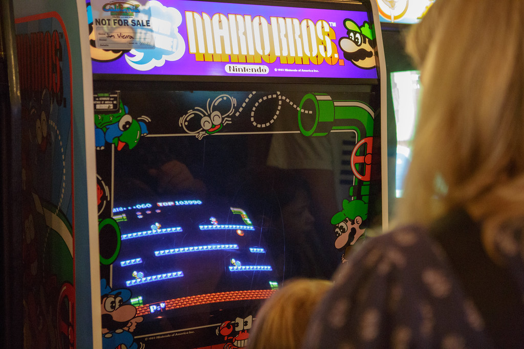 Mario Bros Arcade Game From The 2018 California Extreme Flickr