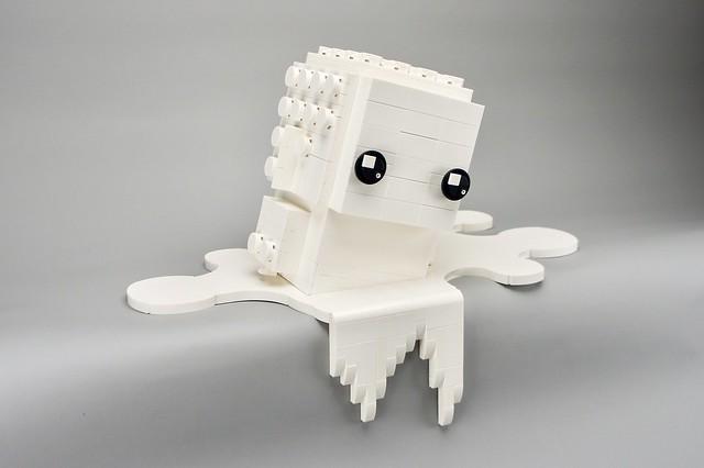 LEGO Monochrome Big BrickHeadz in White