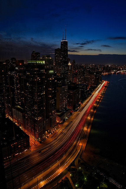 The View from Lake Point Tower, Chicago
