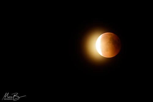 Lunar Eclipse 27-07-2018 / 03 | by Marc Bezembinder