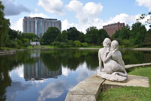 Wade Lagoon Mermaids contemplate moving into the apartments across the street | by DanCentury