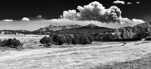 4x4 6d canon colorado ef2470f28l eos expedition exploring naturallight outdoor ridgway smoke sunlight topazlabs wildfire roadtrip travel trip vacation blackandwhite bw monochrome mountains