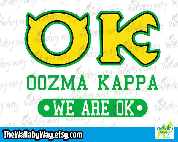Monsters Inc Oozma Kappa Disney Vacation Shirt Design Or Flickr