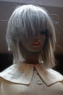 Gray hair dummy.