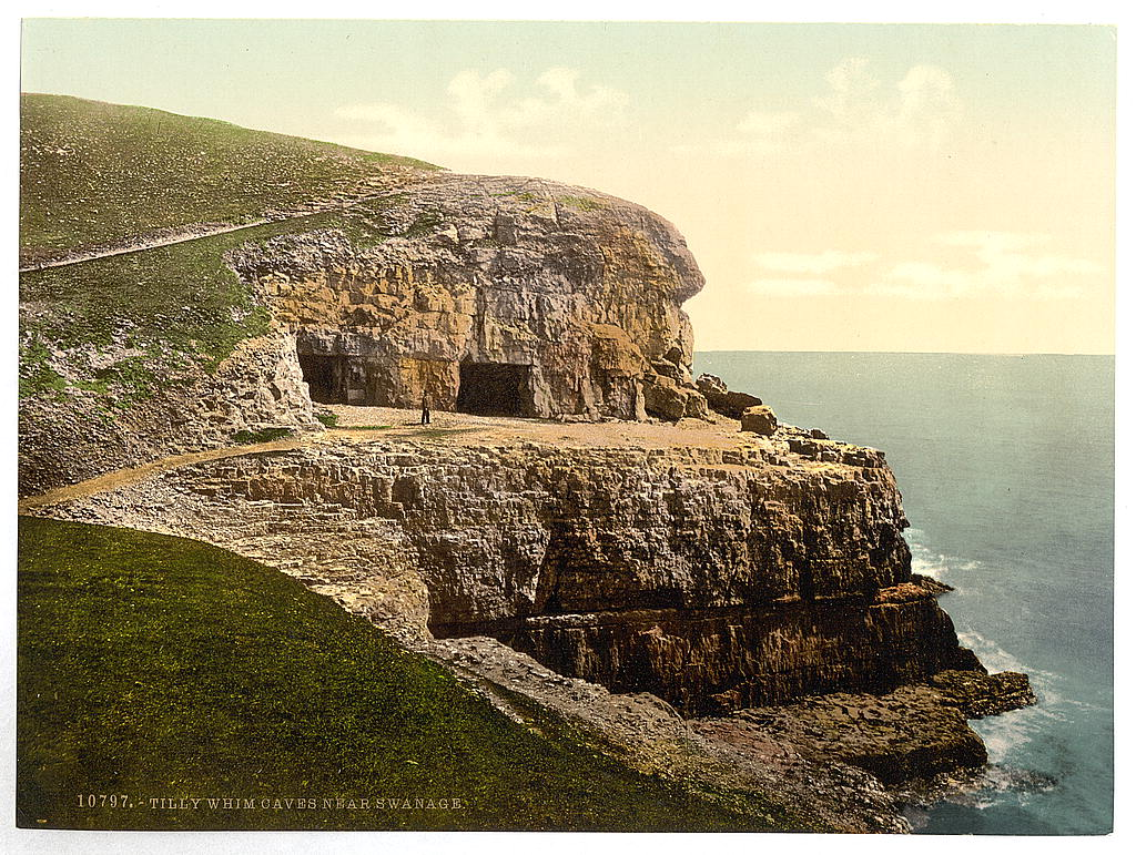 [Tilly Whim Caves, Swanage, England] (LOC)