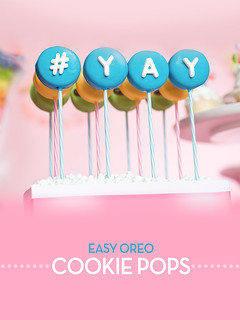 YAY Cookie Pops | by Bakerella