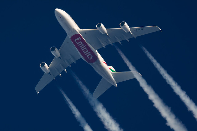 Emirates Airbus A380-861 A6-EOE
