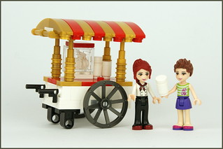 Friends Popcorn Cart | by Palixa And The Bricks