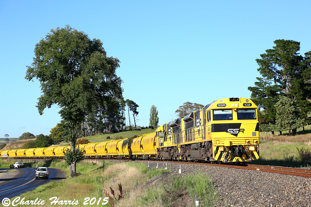 SSR102 SSR101 on 8142 Perthville sm on Friday 06-02-2015 by Charlie Harris