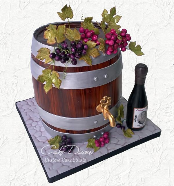 Wine barrel for Thane