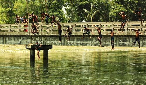 childhood rural children eos canal child bangladesh 500d