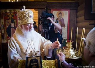 Освящение храма в Кремле 140