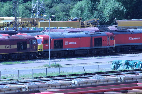 Class 60 Db Schenker 60015 At Toton Toton Traction
