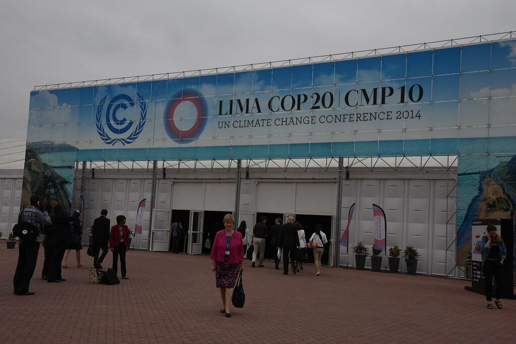 Christine Milne in Lima #COP20Photo credit: Emma Bull