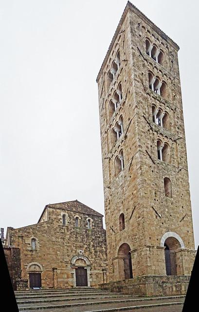 Anagni, Latium - Cattedrale di Santa Maria con campanile