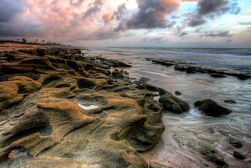 sunset rocks flickr florida fl atlanticocean coquina flaglercounty flaglerrivertoseapreserve