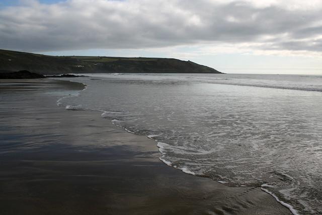 The beach at Whitsand Bay
