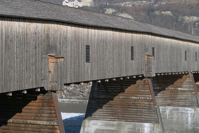 Rhine Bridge Sevelen-Vaduz