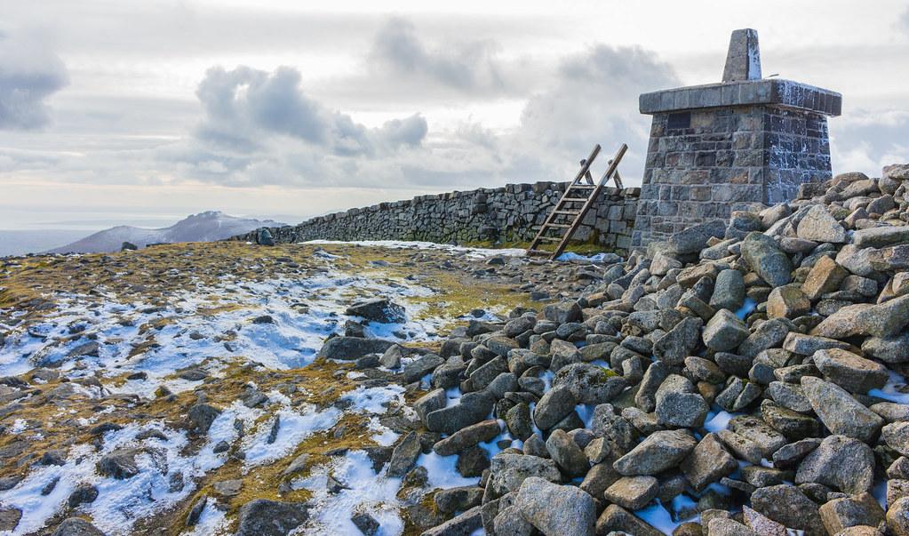 Top of Slieve Donard - Ireland