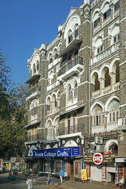 L'ancienne ville coloniale (Mumbai, Inde)