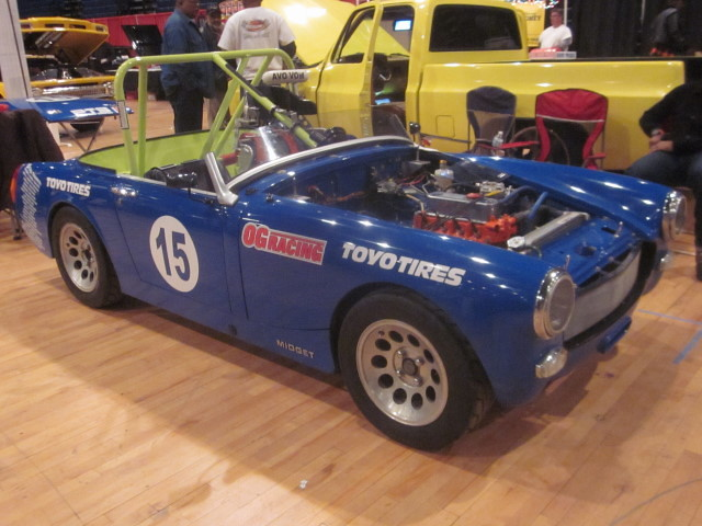 1971 MG Midget | Part of the High Performance Heroes racing