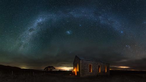 night stars landscape photography australia astro adelaide southaustralia milkyway everlook bondleighhouse