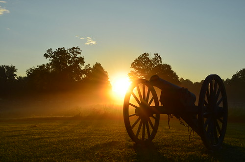 Morning at Gaines' Mill