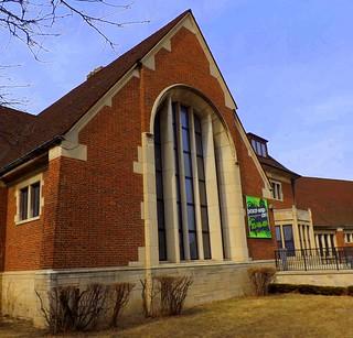Large Arched Window: Francis Parkman Branch, Detroit Public Library--Detroit MI