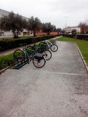 Segundo estacionamento do Deti na UA