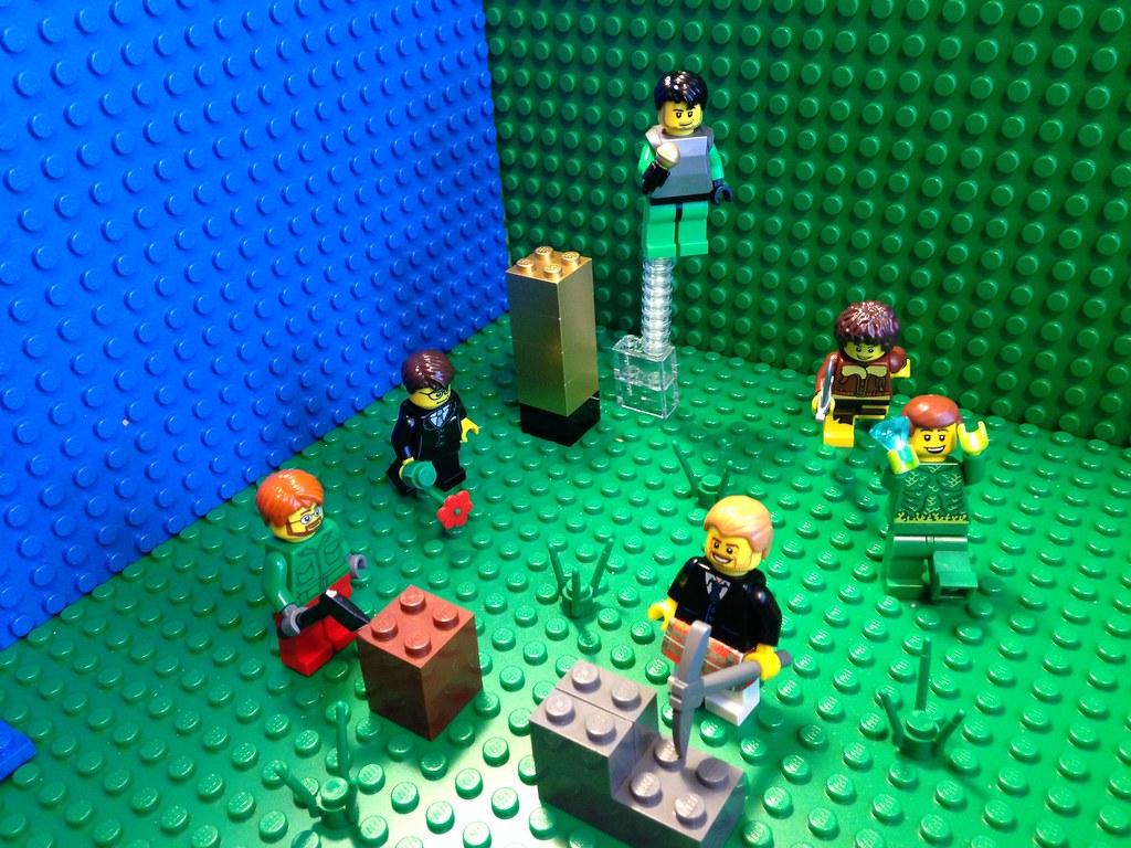 Achievement hunter minecraft in lego | Burrito Clown | Flickr