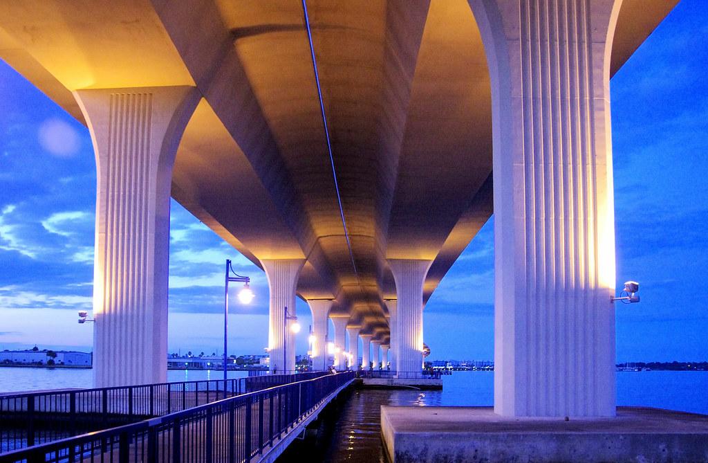 Roosevelt Bridge Stuart Fla.