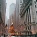 New York City - Christmas Tree - Wall Street by Vivienne Gucwa